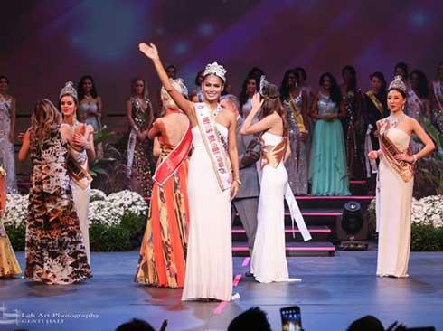 Miss Globe Winner 2015